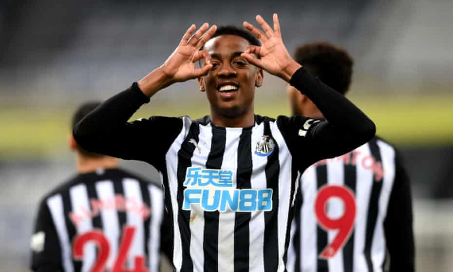 Last season Joe Willock became the second player, after Alan Shearer, to score in seven consecutive Premier League games for Newcastle.