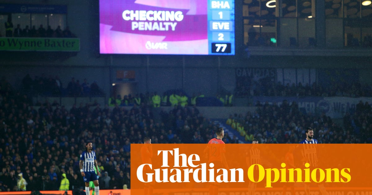 Premier League needs to stop VAR operating like a nitpickers' charter | Paul Wilson