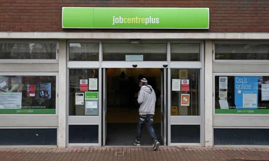 A jobcentre in Folkestone