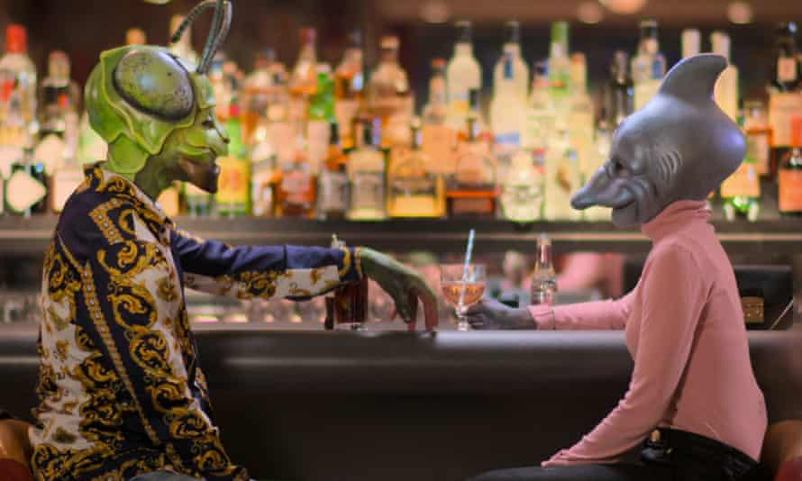 Bar scene from Sexy Beasts