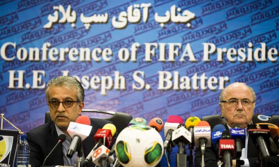 Sheikh Salman and Sepp Blatter