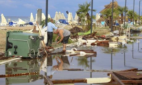 Warning of more severe weather after storm kills seven in Greece