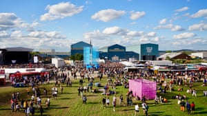A general view of the Field Day Festival by Sue Fisher