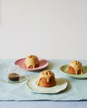 Yotam Ottolenghi's coffee and walnut financiers
