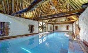 Indoor pool at Pilgrims Cottage, Bacton - East Norfolk Coast