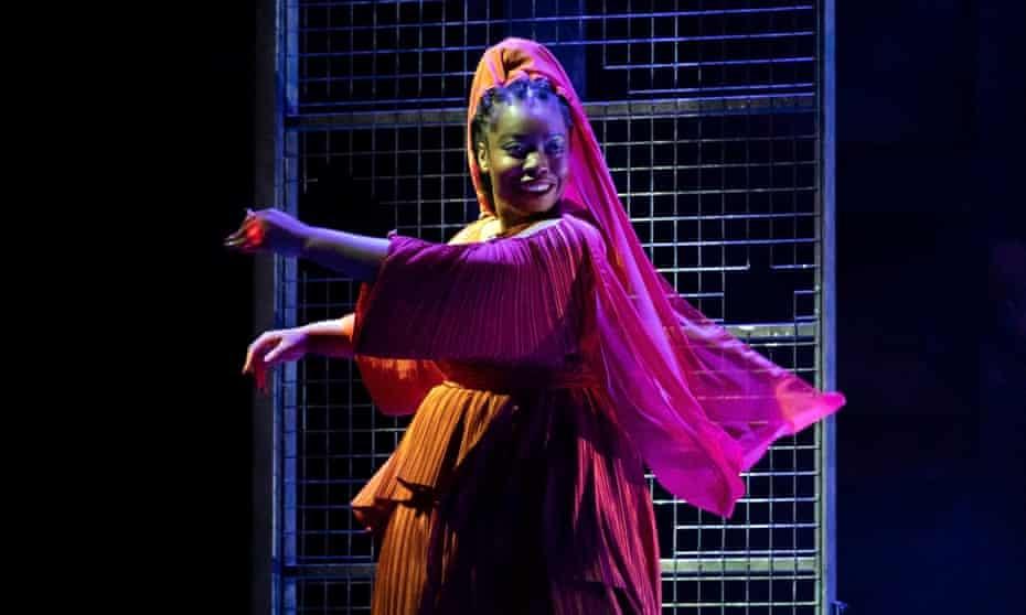 Francesca Chiejina as the sorceress Melissa in Handel's Amadigi.