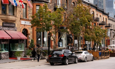 In downtown Montreal, traditionally low rental rates are coming under severe pressure amid a deluge of new restaurants and cafes.