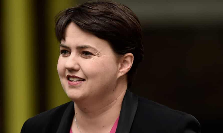 Ruth Davidson, leader of the Scottish Conservatives, is currently pregnant with her first child.