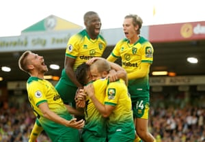 Norwich were riddled by injury problems but they burst into a 2-0 lead against Manchester City on Saturday. And despite Sergio Agüero's goal before half-time them came out for the second half and re-established their unlikely advantage – Teemu Pukki scoring yet again.