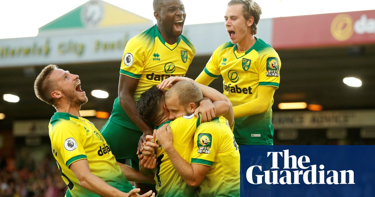 The Fiver | Norwich hoisting Pep Guardiola and his men by their own petard