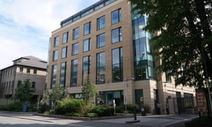 'More like a generic clone-town than an illustrious seat of learning' … one of the office blocks in the development.