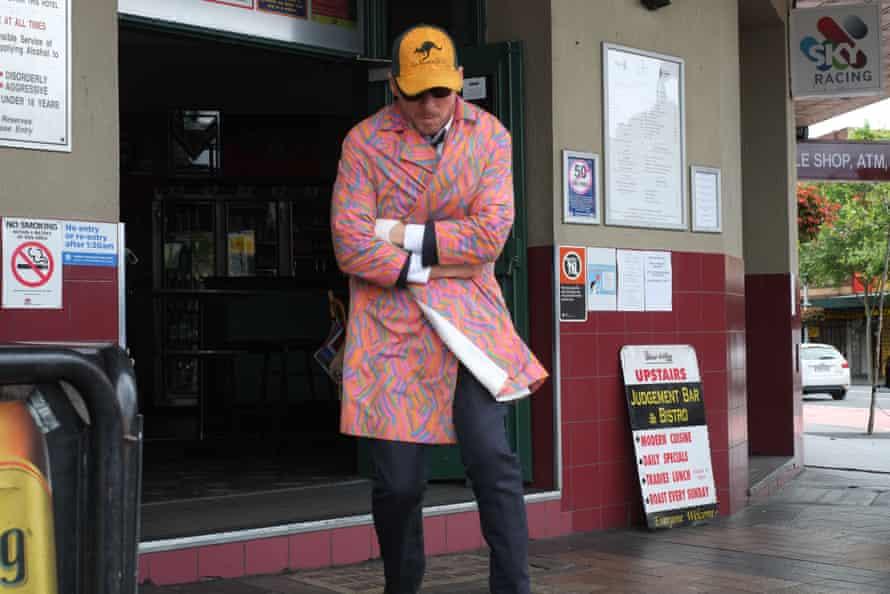 Richard Roxburgh as Cleaver Greene in season four of ABC series Rake