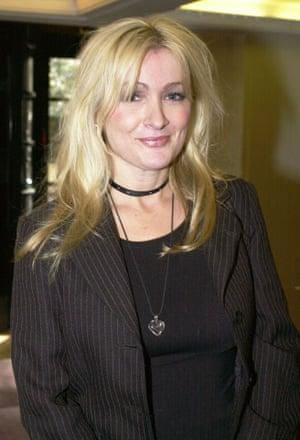 Caroline Aherne pictured in 2001