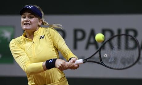 World No 29 Dayana Yastremska 'astonished' by provisional doping ban