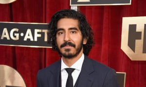 Dev Patel at the Screen Actors Guild awards in Los Angeles.