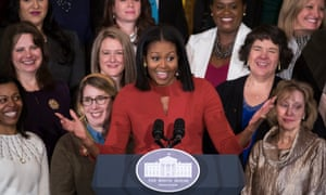 Michelle Obama delivers her final speech as first lady on 6 January 2017