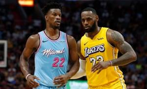 Nba Finals Predictions Lakers Or Heat Would Title Elevate Lebron Past Jordan Sport The Guardian