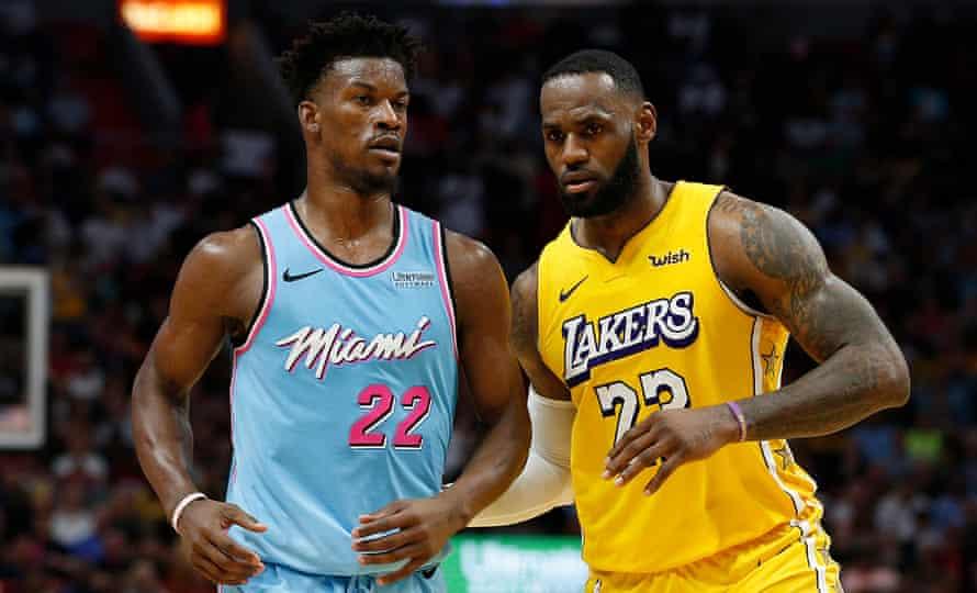 Nba Finals Predictions Lakers Or Heat Would Title Elevate Lebron Past Jordan Nba Finals The Guardian