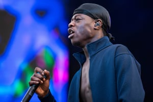 J Hus at Wireless festival, Finsbury Park, London, 7 July.
