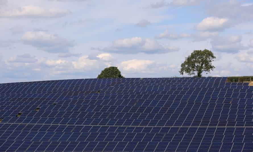 Low Bentham Solar Park, North Yorkshire.
