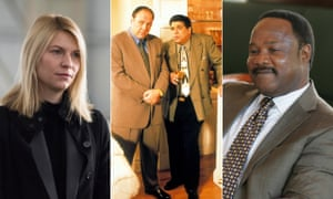 Carrie in Homeland, Tony Soprano and Big Pussy in The Sopranos and Clay Davis in The Wire