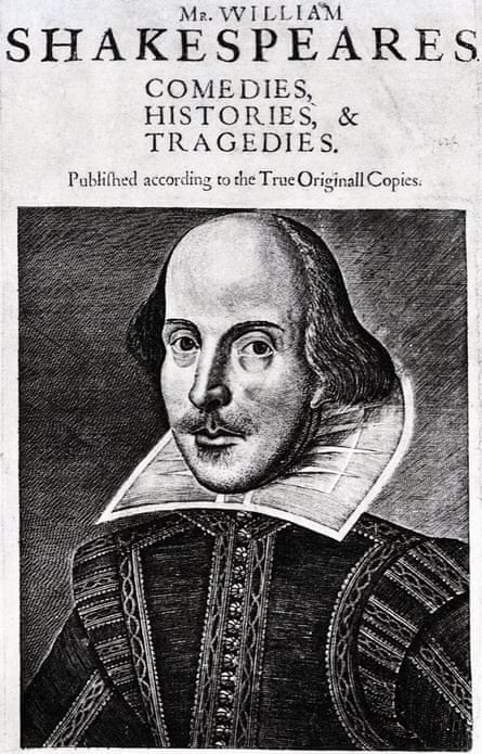 Seven years after his death … the First Folio.