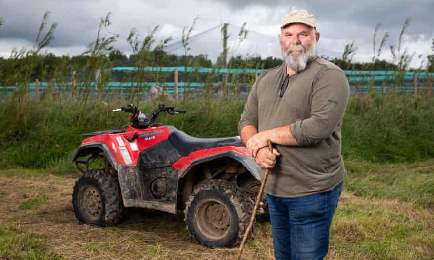 Derek Gow at his farm