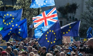 the Unite for Europe march