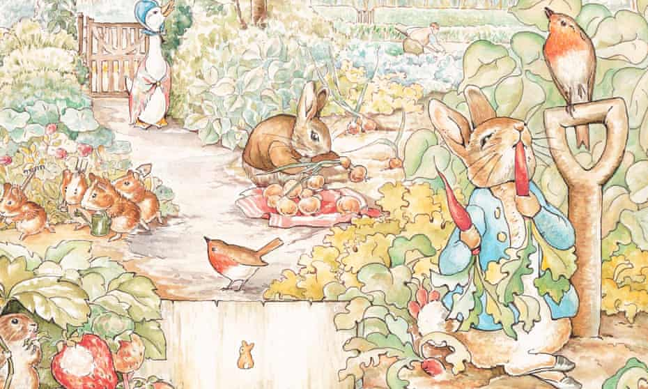Beatrix Potter's The Tale of Peter Rabbit has become a classic of anthropomorphism