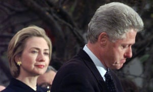 Hillary Clinton, Bill Clinton 1998