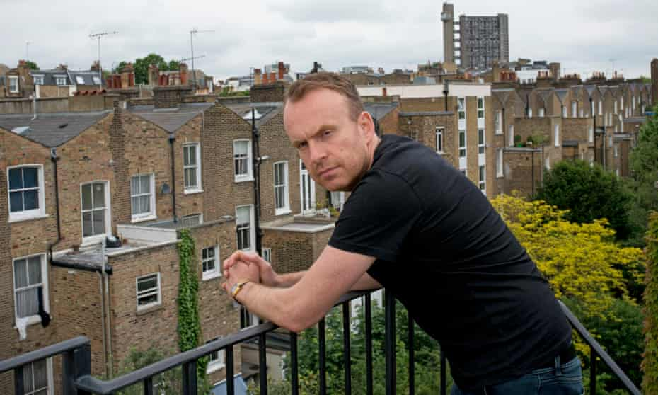 Matt Haig in west London … 'Reading is a route out of yourself.'
