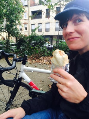 Michelle McGagh's cycle became her best friend.