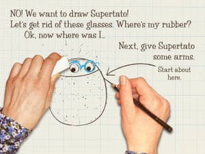 How to draw Supertato6