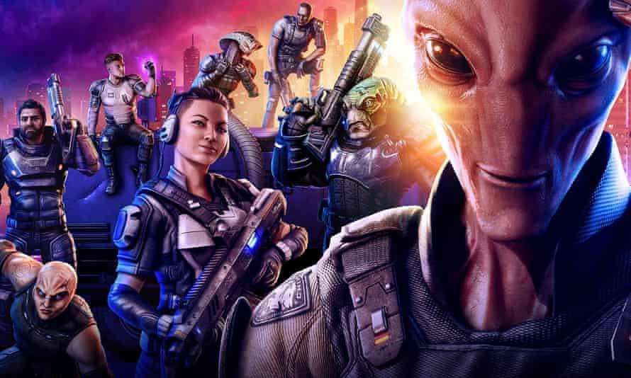 Wonderfully cathartic … XCOM Chimera Squad.