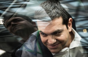 22 Jun 2015, Brussels, Belgium --- Greece's Prime Minister Alexis Tsipras arrives at an emergency Eurogroup heads of state meeting on Greece at European Council headquarters in Brussels, Belgium on 22.06.2015 Eurozone finance ministers are holding crisis talks on Greece, but there was little hope of a breakthrough despite Athens handing over a new proposal at the last minute. by Wiktor Dabkowski --- Image by © Wiktor Dabkowski/dpa/Corbis
