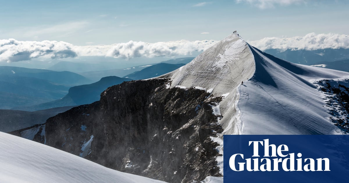 Swedish mountain shrinks by two metres in a year as glacier melts