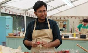 Rahul Mandal of The Great British Bake Off.