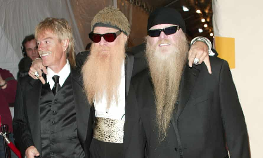 Frank Beard, Billy Gibbons and Dusty Hill in 2004
