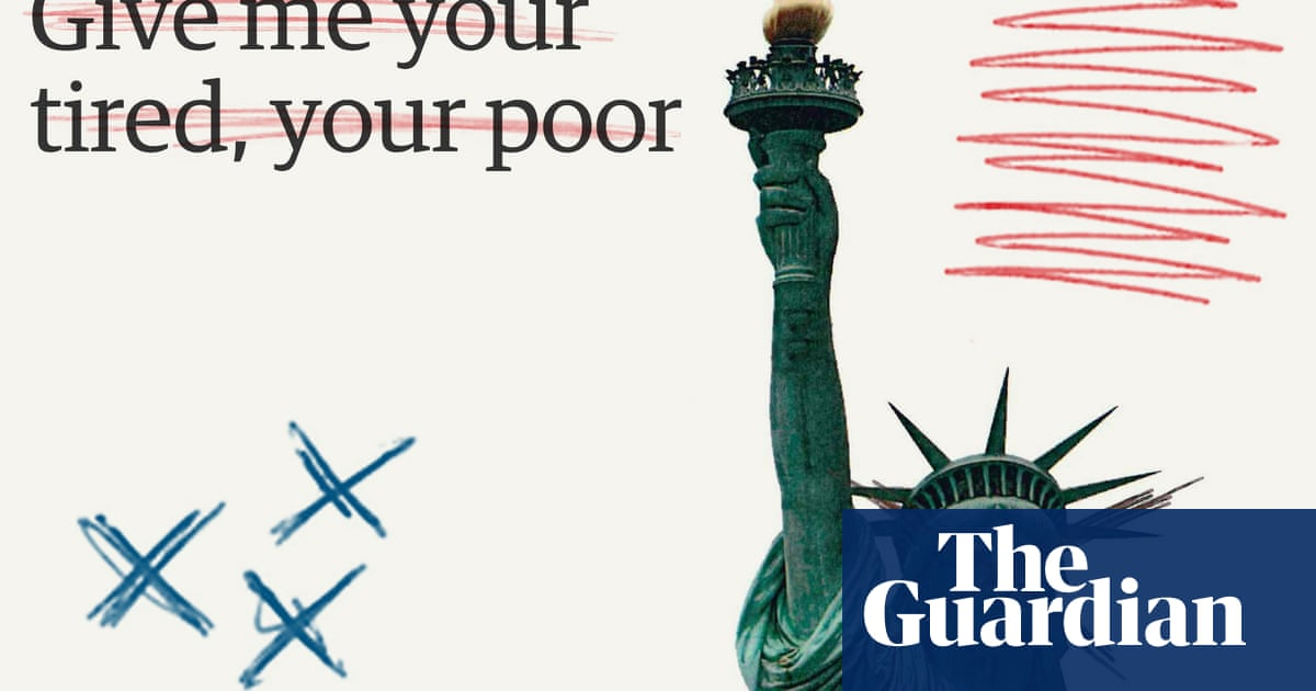 Huddled masses? Losers! Trump v Statue of Liberty | US news | The