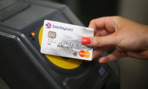 Easy going … contactless is popular with travellers in London.
