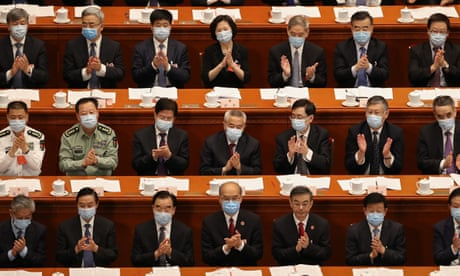 Chinese parliament to vote on Hong Kong security law as US condemnation builds