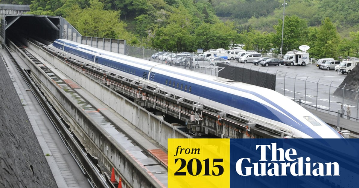 Japan's maglev train breaks world speed record with 600km/h