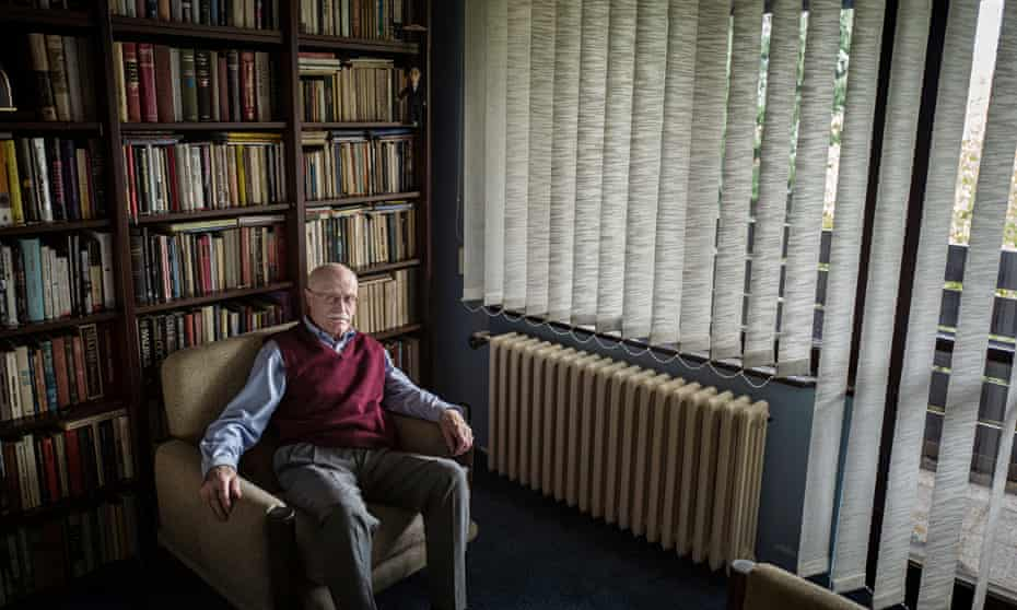 Koecher at the home he shares with his wife Hana on the outskirts of Prague.
