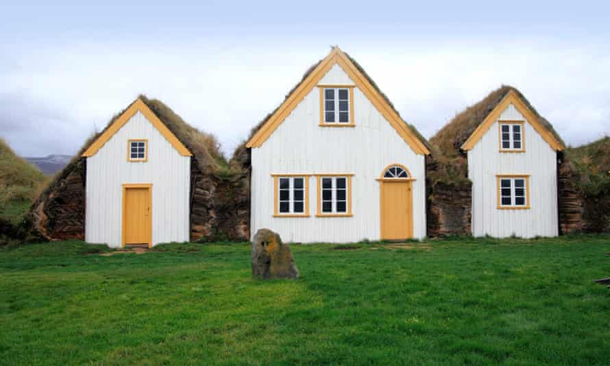 Turf-covered houses in Iceland are among the 'beautiful and unexpected' dwellings featured in Habitat
