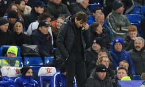 Antonio Conte was left dejected by Chelsea's 3-0 home loss to Bournemouth.