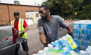 Four years ago officials chose to switch Flint's water to the Flint river, without lead corrosion controls, prompting the public health crisis.