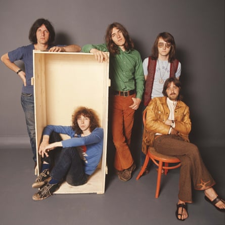 Fairport Convention in 1970: from left, Dave Pegg, Richard Thompson, Simon Nicol, Dave Mattacks and Dave Swarbrick