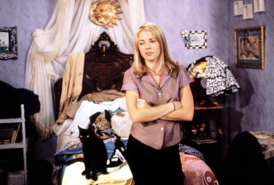 Melissa Joan Hart as Sabrina, the Teenage Witch.