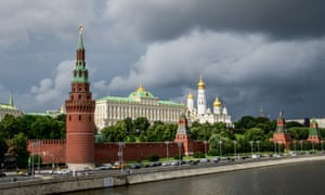 FILES-US-RUSSIA-ESPIONAGE-ELECTION-CIA(FILES) This file photo taken on July 09, 2018 shows the Kremlin in Moscow. - US agents extracted a high-level mole in the Russian government who had confirmed Vladimir Putin's direct role in interfering in the 2016 presidential election, American media reported. The individual had been providing information to US intelligence for decades, had access to Putin and had sent pictures of high-level documents on the Russian leader's desk, CNN said. (Photo by Mladen ANTONOV / AFP)MLADEN ANTONOV/AFP/Getty Images