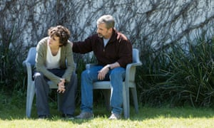 Well meaning … Timothée Chalamet and Steve Carell in Beautiful Boy.
